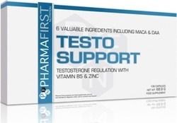 PharmaFirst Testo Support 108 κάψουλες