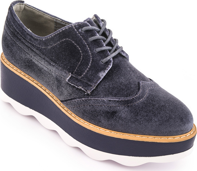 Oshoes 7218 Grey Velvet - Skroutz.gr 281a22990a9