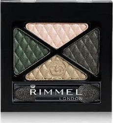Rimmel Glam Eyes Quad Eye Shadow 024 Green Sapphire