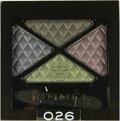 Rimmel Glam Eyes Quad Eye Shadow 026 Precious Crown