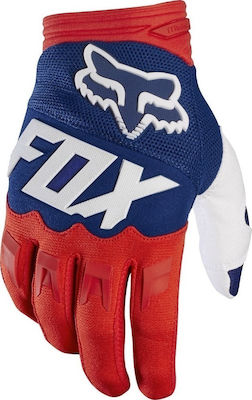 Fox Dirtpaw Race Red - White