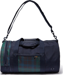 Fred Perry Barrel Bag L7308 Blue 46cm