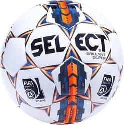 Select Sport Brillant Super No 5 White - Orange 10561