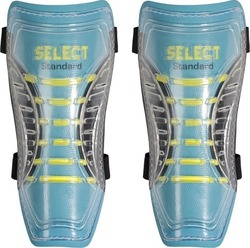 Select Sport Shin Guards Standard Turquoise - Yellow 11196