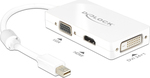 DeLock DisplayPort male - DVI-D,HDMI,VGA female (62630)