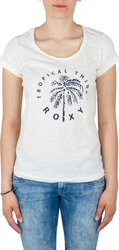 ROXY T-Shirt BOBBYTROPICAL J MARSHMELLOW