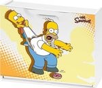 Παπουτσοθήκη Simpsons Homer & Bart 51x17.3x41cm