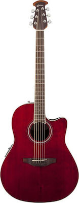 Ovation Celebrity Standard Mid Depth Ruby Red