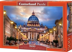 The Basilica of St. Peter 500pcs (B-52349) Castorland