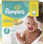 Pampers New Baby No3 (5-9kg) 29 τμχ