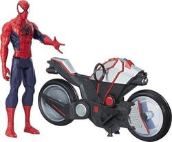 Hasbro Spider-Man Titan Hero Series: Spider-Man with Spider Cycle