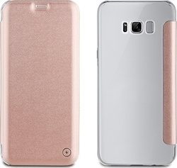 Muvit Book Crystal Rose Gold (Galaxy S8+)