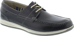 Clarks - Fallston style navy leather -