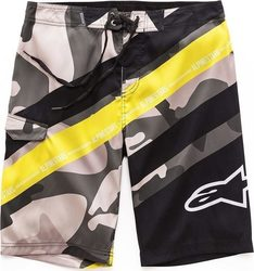 ALPINESTARS LAMBO BOARDSHORT MILITARY/WHITE