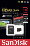 Sandisk Extreme Plus microSDXC 128GB U3 V30 A1 with Adapter
