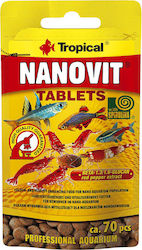 ΤΡΟΦΗ ΨΑΡΙΩΝ TROPICAL NANOVIT TABLETS 10GR