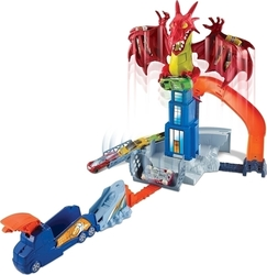 Mattel Hot Wheels: Dragon Blast Playset