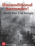 GMT Games Unconditional Surrender! 2nd Printing