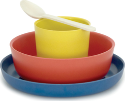 Biobu Bambino Kid Set Lemon/Tomato/Blue