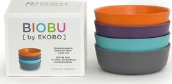 Biobu Bambino Bowl Set Lagoon/Purple