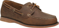 CLARKS PORT VIEW MAHOGANY LEATHER 26108694