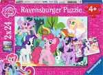 Disney: Lovely Ponys 2x24pcs (09105) Ravensburger