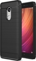 OEM Carbon Armor Back Cover Μαύρο (Lenovo K6 Note)
