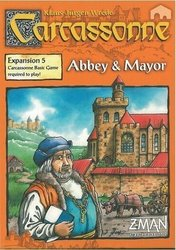 Z-Man Games Carcassonne Abbey & Mayor Expansion