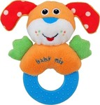 BabyMix Plush Rattle Dog