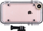 OEM Back Cover Waterproof Case with 170 Degrees Wide Angle Lens (iPhone 6/6s)