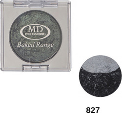 MD Professionnel Baked Range Wet Dry Duo Eyeshadow 827