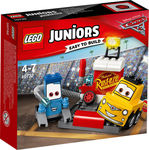 Lego Juniors: Guido and Luigi's Pit Stop 10732