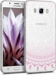 KW Indian Sun Light Pink White Transparent (Galaxy J7 2016)