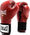 Everlast Professional Leather Gloves 141 Red