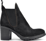 Bueno Shoes Tricot Suede Black