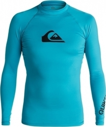 RASHGUARD QUIKSILVER All Time Long Sleeve Rash Tank Blue