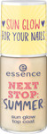 Essence Next Stop Summer Sun Glow Top Coat 01 Be Someones Sunshine Today!