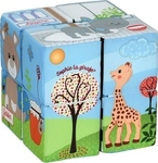 Sophie La Girafe Sophie the Giraffe Magic Cube Μαγικοί Κύβοι 8τμχ