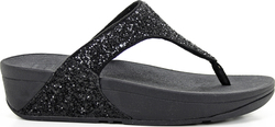 Fitflop Glitterball Toe Post Black