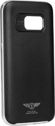 Kakusiga Silk Back Cover Silver (Galaxy S7 Edge)