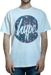 HYPE REPEAT LEAF CIRCLE 16014 WHITE