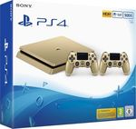 Sony Playstation 4 Gold (PS4) Slim 500GB & DualShock 4