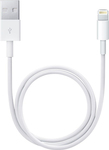 Powertech Regular USB to Lightning Cable Λευκό 1m (CAB-U083)