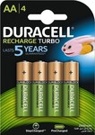 Duracell Recharge Turbo AA 2500mAh (4τμχ)