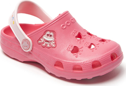 Coqui Clog Little Frog New 8701 Rouge/Candy Pink
