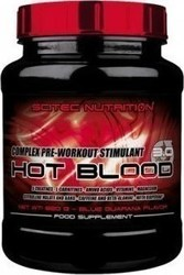 Scitec Nutrition Hot Blood 820gr Λεμόνι