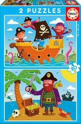 Pirates 2x20pcs (17149) Educa
