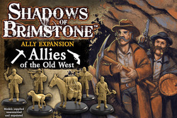 Flying Frog Shadows of Brimstone: Old West Allies
