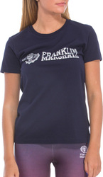 Franklin + Marshall T-Shirt Γυναικείο 15/Navy TSWF622ANS17 1660570