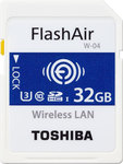 Toshiba Flashair W-04 SDHC 32GB U3